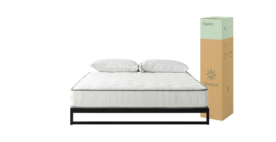 Zinus Ivan 3.5ft × 6.5ft - Pocket Spring Mattress - 20cm